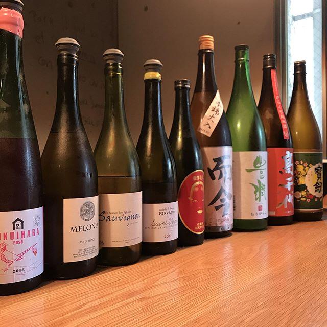 本日のグラス白ワインと日本酒別に赤ワインも3種ほど開けてます!個人的にはドメーヌ長谷@長野のロゼワインがお気に入り。やさしい感触がうっとりします。お電話お待ちしております。092-713-4550#イルフェソワフ #ワイン#日本酒 #薬院#警固#隠れ家