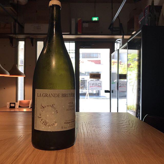 今日9/5はグラスでこちらを開けていますフィリップ・ジャンボングラン・ブリュイエール  マグナム  2005お待ちしております!#イルフェソワフ #ワイン#日本酒 #薬院#警固#昨日開けた