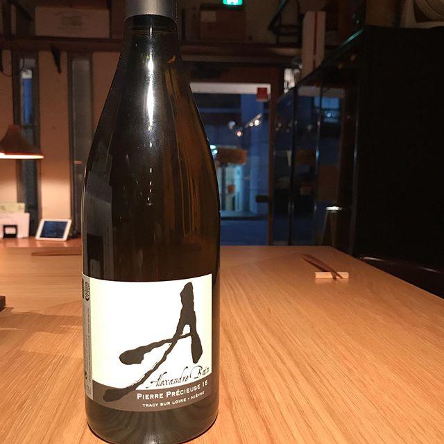 今日2/7は大好きなアレクサンドル・バンをグラスで開けますね。蜜っぽい感じがたまりません〜#イルフェソワフ #ワイン#日本酒 #薬院#警固